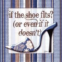 Girly Shoe II - petite Fine-Art Print