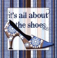 Girly Shoe I Fine-Art Print