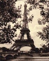 Eiffel Tower II - mini Fine-Art Print