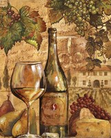 Wine Collage II - mini Fine-Art Print
