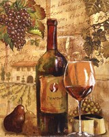 Wine Collage I - mini Fine-Art Print