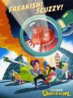 Futurama: The Beast with a Billion Backs Cartoon Wall Poster