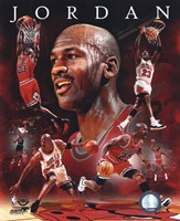 Michael Jordan 2011 Portrait Plus Fine-Art Print