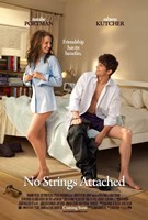 No Strings Attached Wall Poster