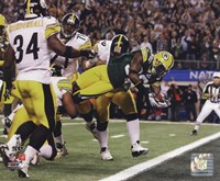 Nick Collins TD from Super Bowl XLV Fine-Art Print