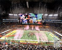 Green Bay Packers Celebrate Super Bowl XLV at Cowboys Stadium Fine-Art Print