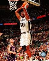 David Robinson Game 2 of the 2003 NBA Finals Action Fine-Art Print