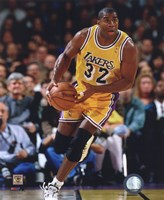 Magic Johnson 1995-96 Action Fine-Art Print