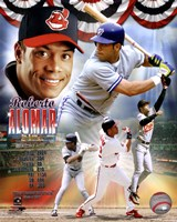 Roberto Alomar Legends Composite Fine-Art Print