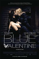 Blue Valentine Wall Poster