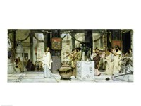 The Vintage Festival in Ancient Rome, 1871 Fine-Art Print