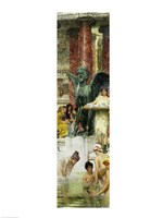 In the Roman Baths, or Roman Women In The Bath, 1876 Fine-Art Print