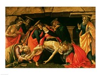 Lamentation of Christ. c.1490 Fine-Art Print