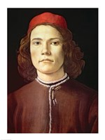 Portrait of a Young Man, c.1480-85 Fine-Art Print
