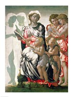Madonna and Child with St. John, c.1495 Fine-Art Print