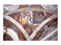 Sistine Chapel Ceiling: Judith Carrying the Head of Holofernes Fine-Art Print
