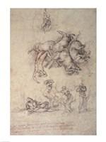 The Fall of Phaethon, 1533 Fine-Art Print