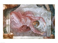 Sistine Chapel Ceiling: God Dividing Light from Darkness Fine-Art Print