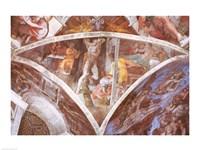 Sistine Chapel Ceiling: Haman Fine-Art Print