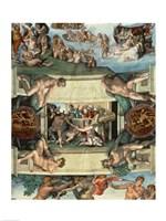 Sistine Chapel Ceiling (1508-12): The Sacrifice of Noah, 1508-10 Fine-Art Print