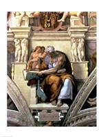 Sistine Chapel Ceiling: Cumaean Sibyl, 1510 Fine-Art Print