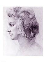 Ideal Head of a Woman, c.1525-28 Fine-Art Print