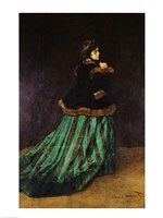 Camille, or The Woman in the Green Dress, 1866 Fine-Art Print