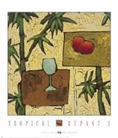 Tropical Repast I Fine-Art Print