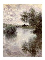 The Seine at Vetheuil, 1879 Fine-Art Print