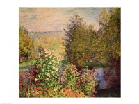A Corner of the Garden at Montgeron, 1876-7 Fine-Art Print