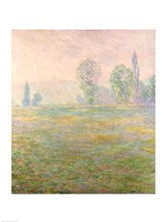 Meadows in Giverny, 1888 Fine-Art Print