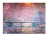 The Thames at Charing Cross, 1903 Fine-Art Print