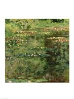 The Waterlily Pond, 1904 Fine-Art Print