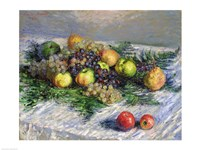 Still Life with Pears and Grapes, 1880 Fine-Art Print