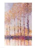 Poplars on the Banks of the Epte, 1891 Fine-Art Print