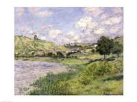 Landscape, Vetheuil, 1879 Fine-Art Print
