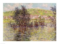 Vetheuil, View from Lavacourt, 1879 Fine-Art Print