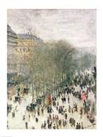 Boulevard des Capucines, 1873-4 Fine-Art Print