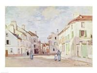 Rue de la Chaussee at Argenteuil Fine-Art Print