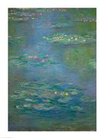 Waterlilies, detail, 1903 Fine-Art Print