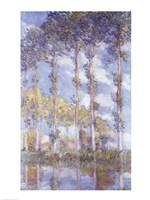 The Poplars, 1881 Fine-Art Print
