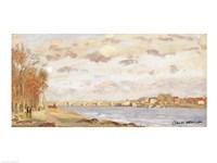 The Seine at Argenteuil, 1872 Fine-Art Print