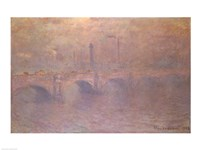 The Thames at London, Waterloo Bridge, 1903 Fine-Art Print