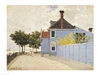 The Blue House, Zaandam Fine-Art Print