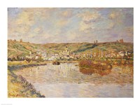 End of the Afternoon, Vetheuil Fine-Art Print