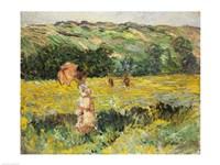 Limetz Meadow, 1887 Fine-Art Print