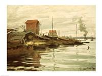The Seine at Petit-Gennevilliers, 1872 Fine-Art Print