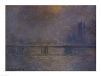 Charing Cross Bridge, The Thames Fine-Art Print