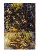 Corner of a Pond with Waterlilies, 1918 Fine-Art Print