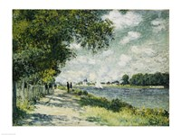 The Seine at Argenteuil, 1875 Fine-Art Print